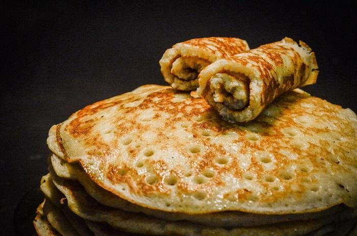 Рецепт вкусных тонких блинов на ряженке пошагово с фото
